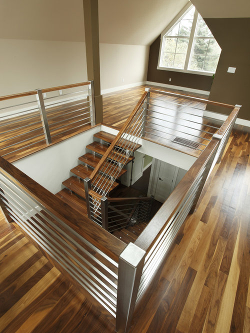 Stainless Steel Staircase Railing | Houzz