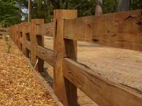 Country Wood Fence Designs   Tyres2c