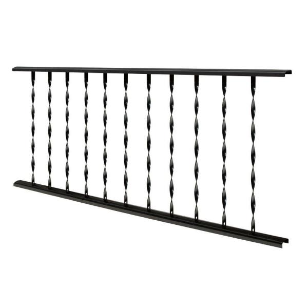 Village Ironsmith Traditional 4 ft. X 32 in. Black Steel ...