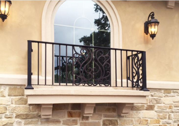 Wrought Iron Balcony Railing Factory, Manufacturers and ...