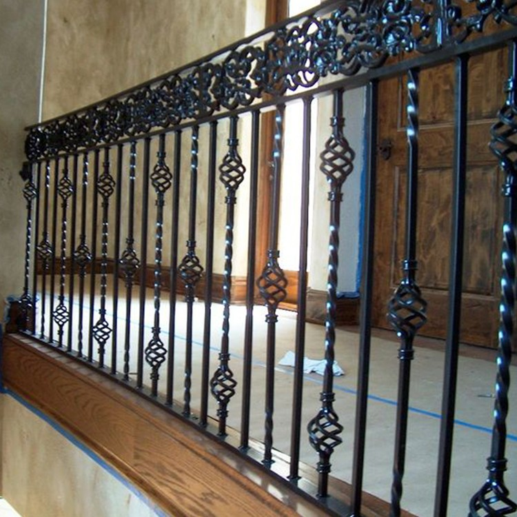Saftey Use 1 Meter Height Wrought Iron Terrace Railing ...