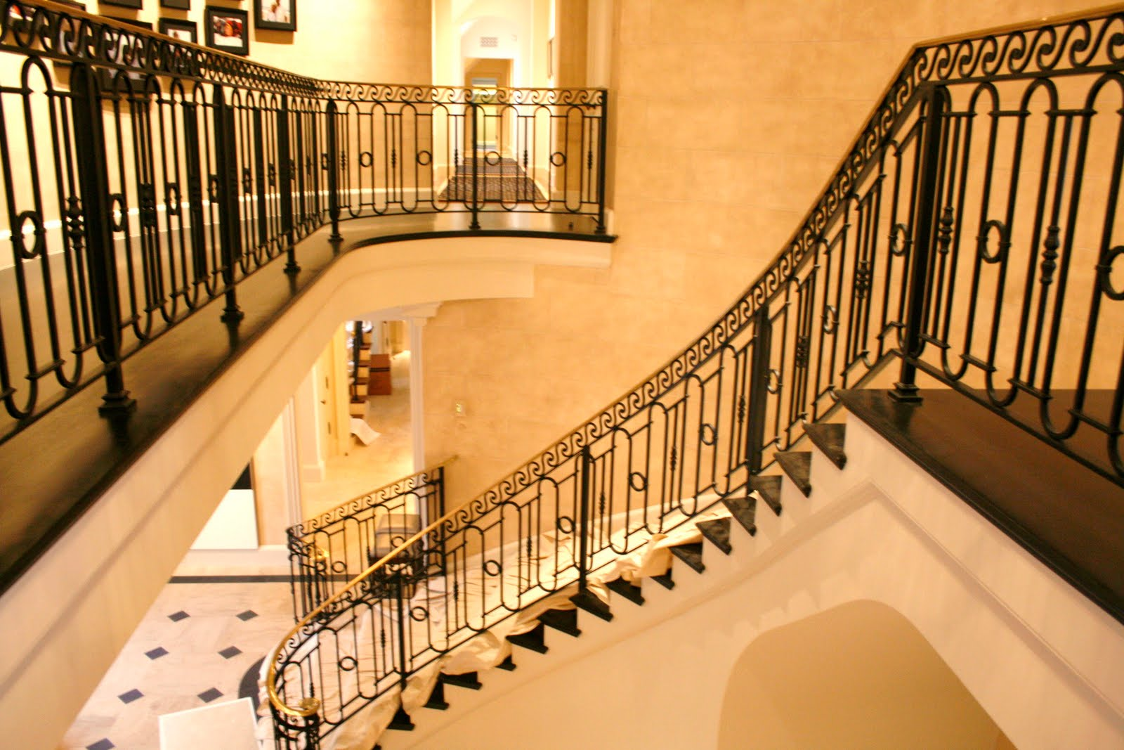 Wrought Iron Stair Railings for Creating Awesome Looking ...