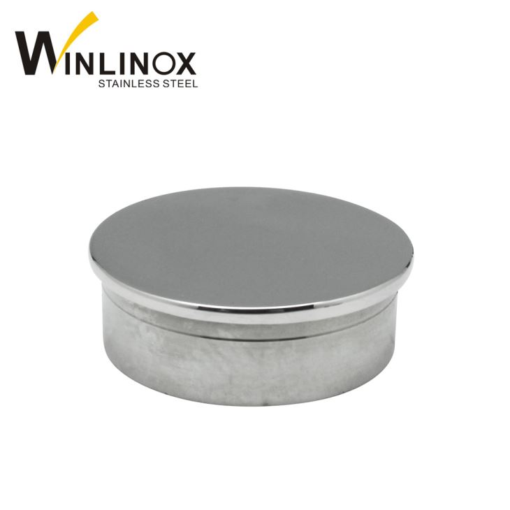 China 316 Stainless Steel Post Top Caps Railing Tube End ...