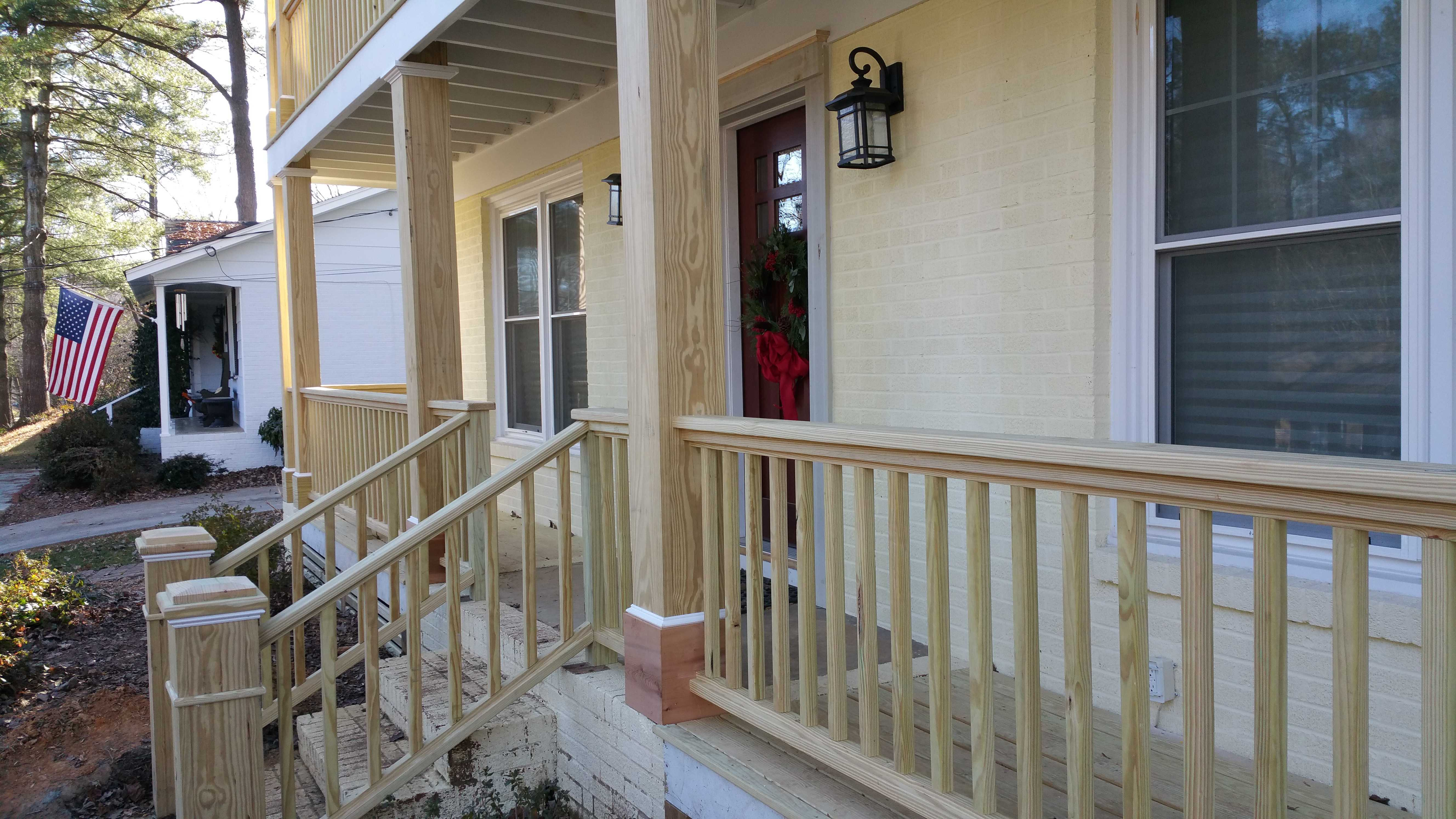 Front Porch Railings Ideas Pictures Awesome Bungalow ...