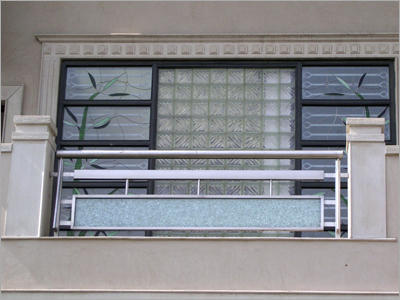 Designer Stainless Steel Balcony Railing at Rs 450 ...