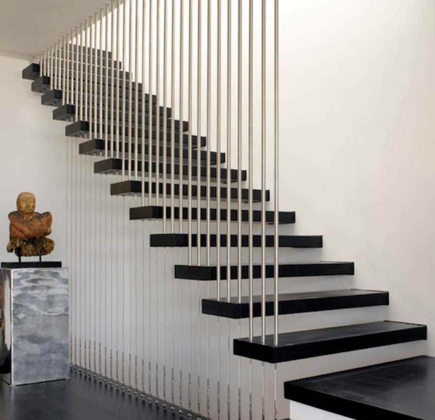Staircase Rail With A Modern Design Stainless Steel ...