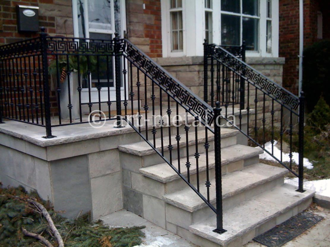 Exterior Stair Handrail Code for Construction in Ontario