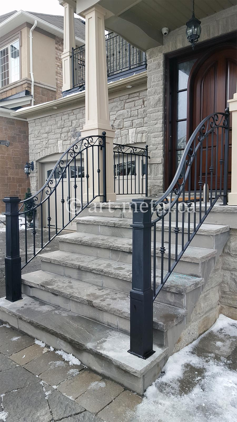Best Exterior Wrought Iron Stair Railings You Can Get in ...