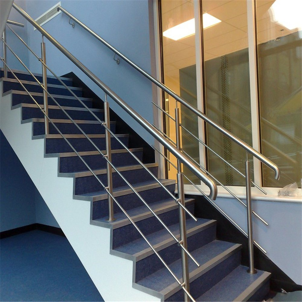 China SS304 Solid Rod Stainless Steel Railing Design for ...