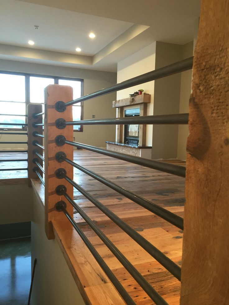 Image result for rustic loft railing ideas | Tiny Home ...