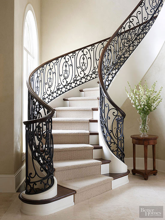Simple staircase railing designs from Scotty Curthoys ...