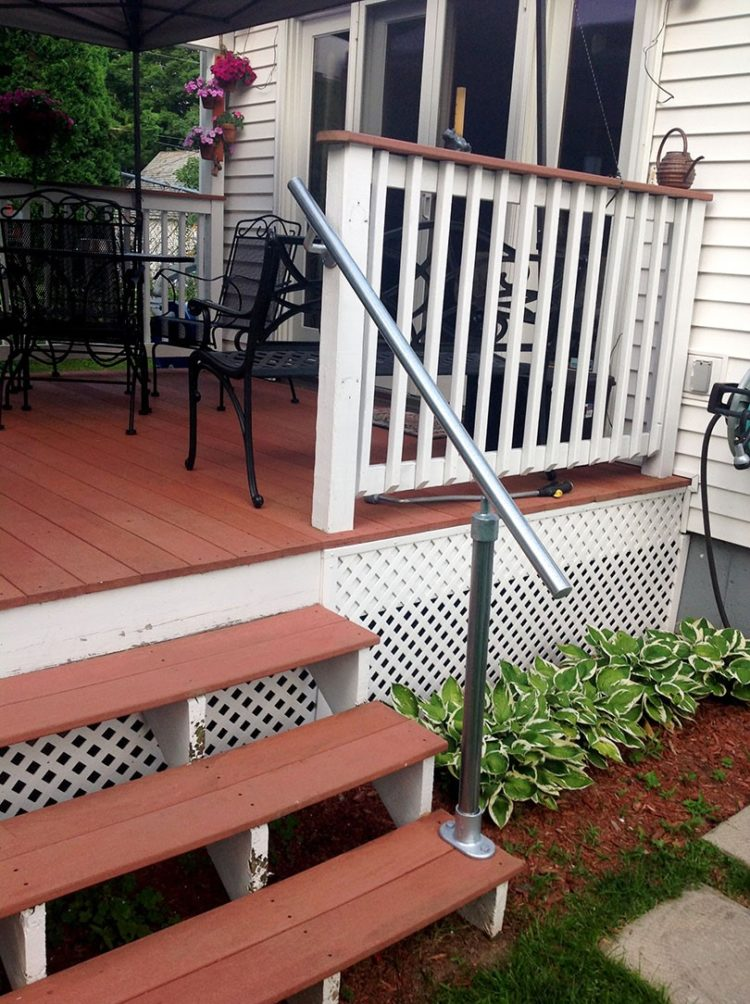 50+ DIY Deck Railing Ideas & Designs That Are Sure to ...