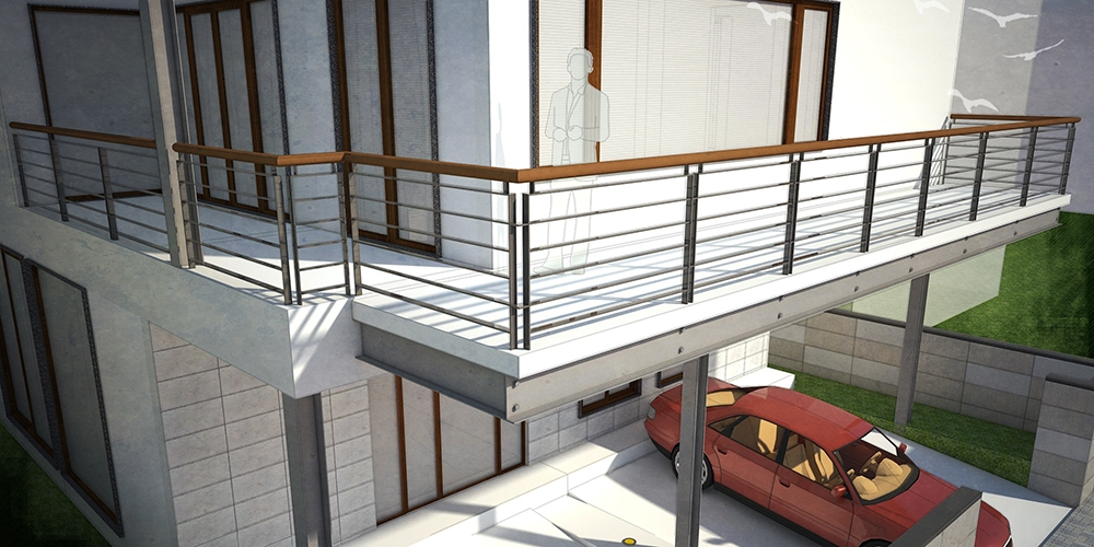 House Roof Grill Design Iron Balcony Railing Images ...