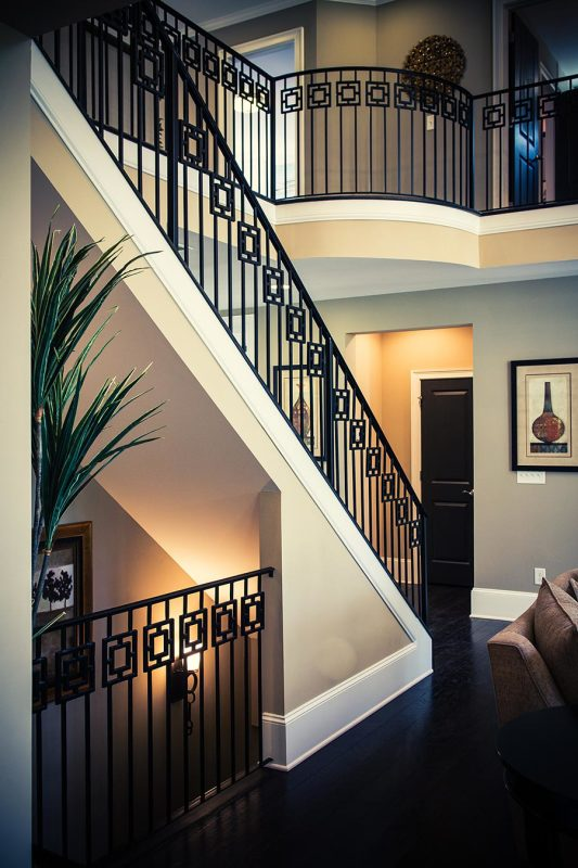 Wrought Iron Stair Railing | Artistic Stairs