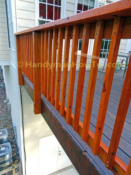 Construction Safety Railing Pickets
